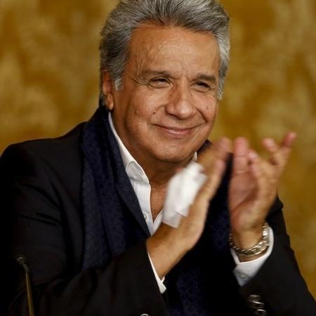Lenín Moreno teve vários encontros com o gerente da campanha de Trump em Quito - Getty Images