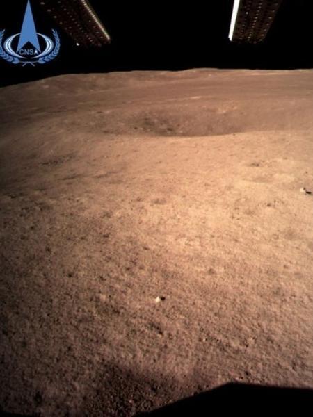 China realizou primeiro pouso de sonda no lado oculto da Lua - EPA/Agência Espacial Chinesa