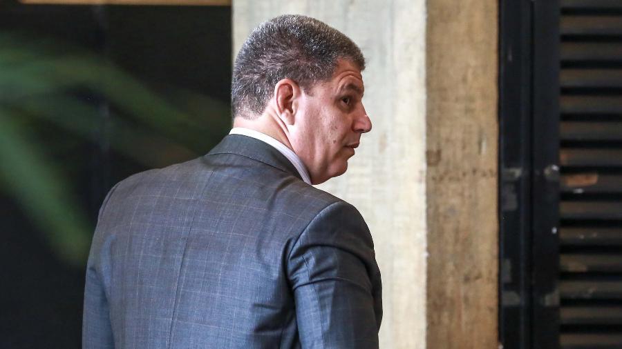 4.dez.2018 - O ex-ministro Gustavo Bebianno - Fátima Meira/Futura Press/Folhapress