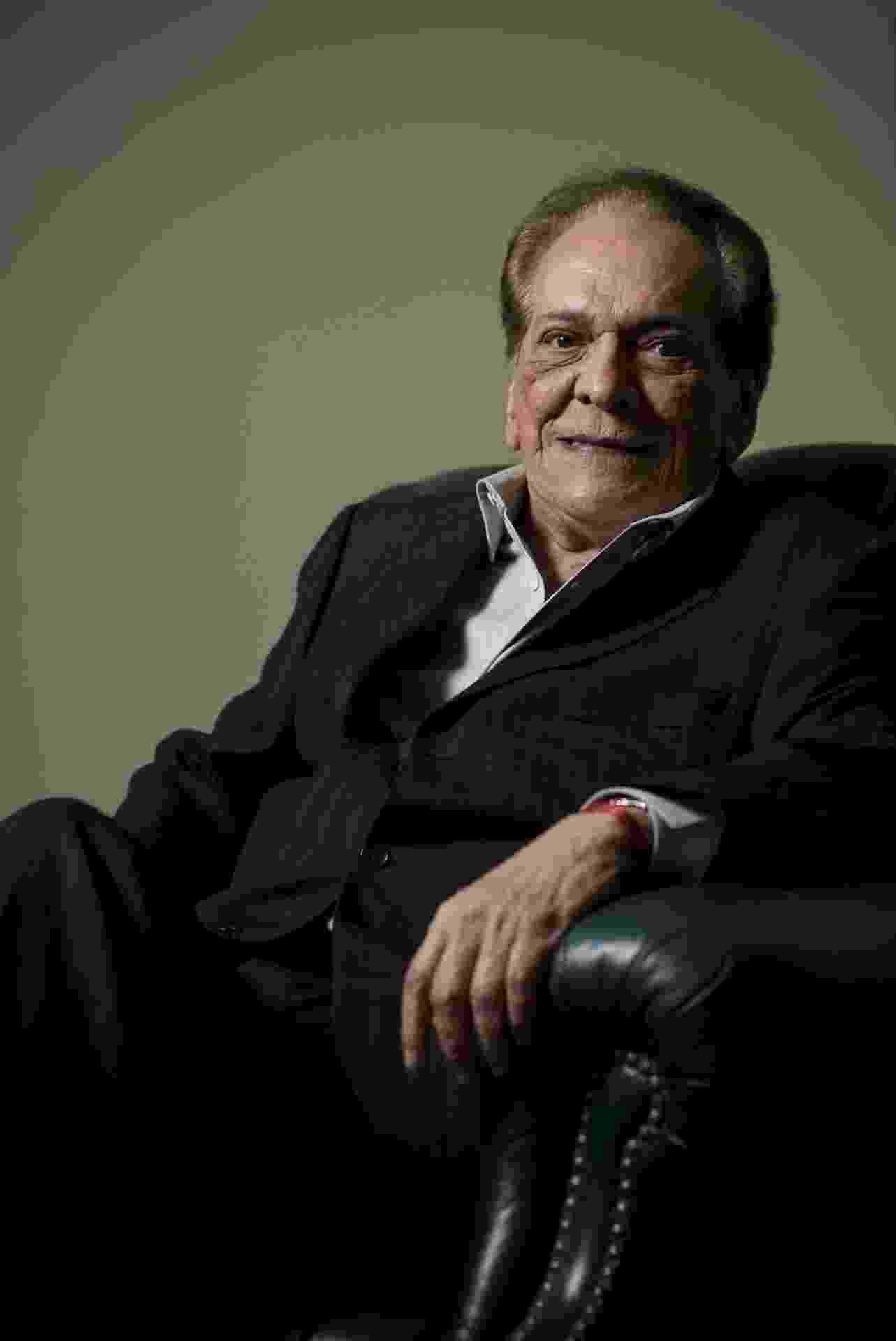 O ator Lucio Mauro - Filipe Redondo / 01.04.2009 - Folhapress