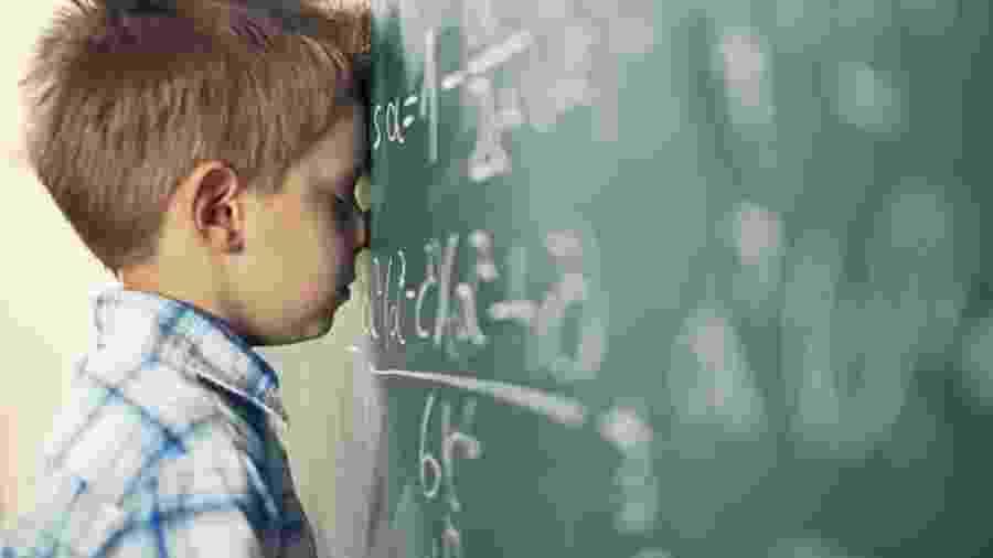 Estudos tentam derrubar a ideia de que nascemos - ou não - com afinidade para a matemática - Getty Images