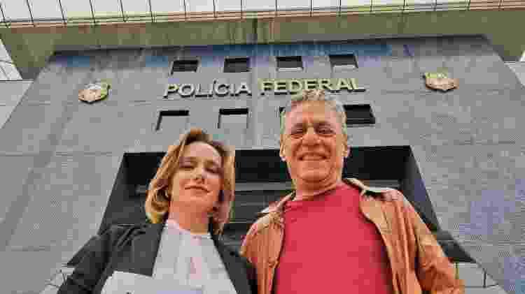 Carol Proner e Chico Buarque de Holanda em Curitiba - Ricardo Stuckert