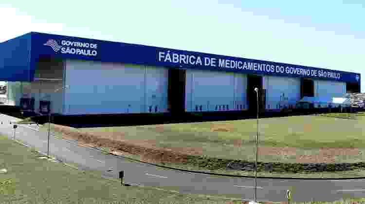 Fábrica da Furp em Américo Brasiliense - Governo do Estado/Dvulgação - Governo do Estado/Dvulgação