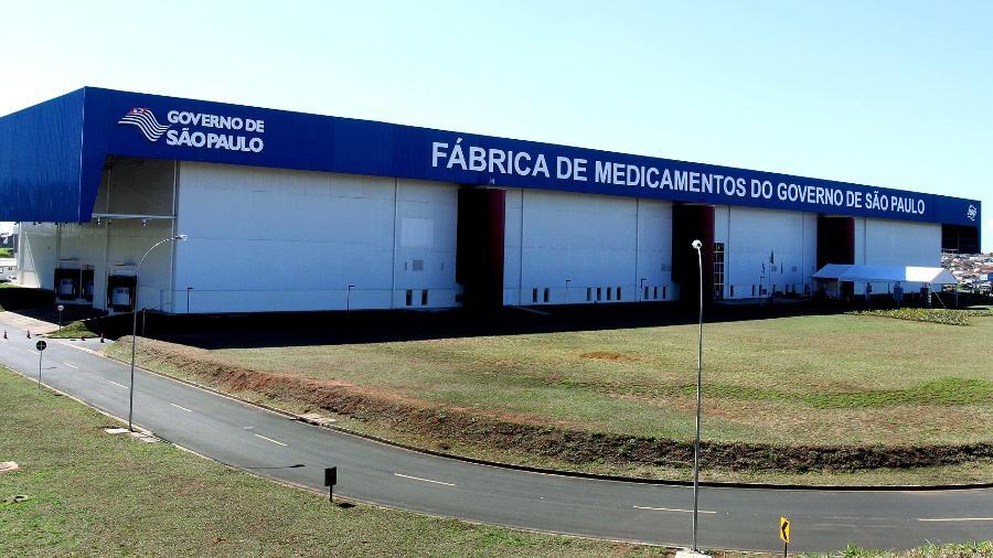 Inauguração da fábrica da Furp em Américo Brasiliense - Governo do Estado/Dvulgação