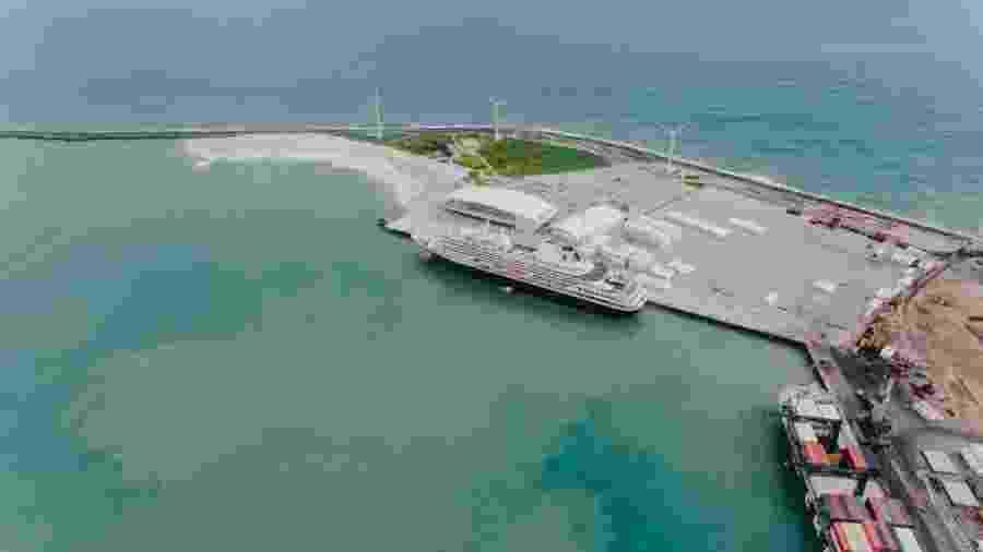 Terminal Marítimo de Passageiros do Porto de Fortaleza, administrado pela Companhia Docas do Estado do Ceará - Divulgação/Companhia Docas do Estado do Ceará