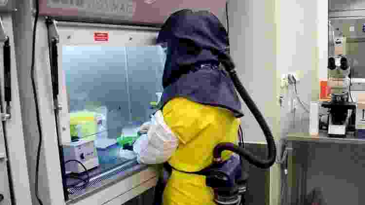 Laboratórios como este na Hungria têm de seguir rígidos padrões internacionais - EPA - EPA