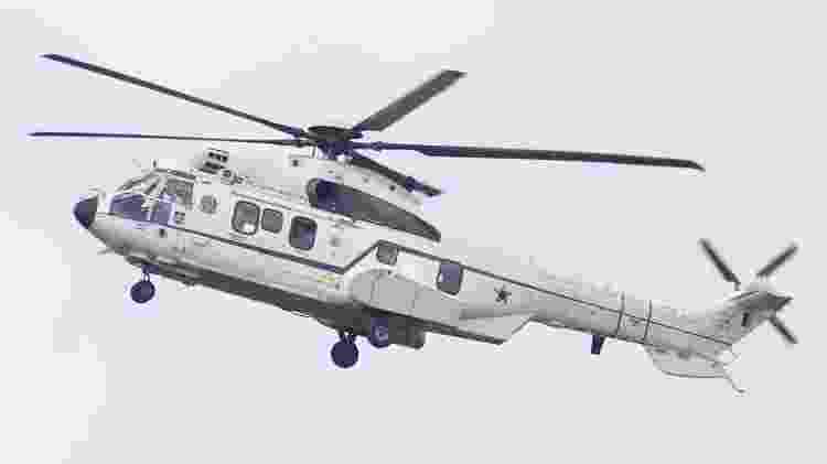 24.mai.20 - Bolsonaro vai de helicóptero a ato esvaziado, em Brasília - Dida Sampaio/Estadão Conteúdo - Dida Sampaio/Estadão Conteúdo