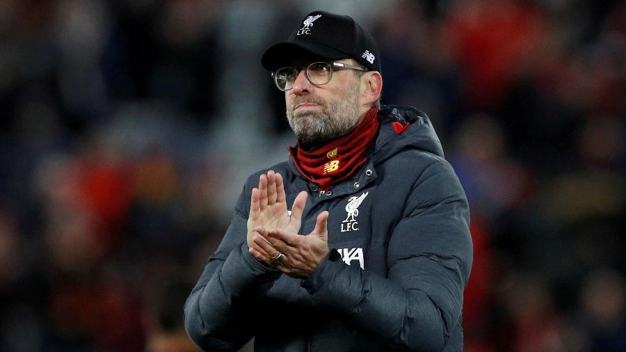 Técnico do Liverpool prestou homenagens aos torcedores e relembrou ídolos da equipe inglesa - Phil Noble