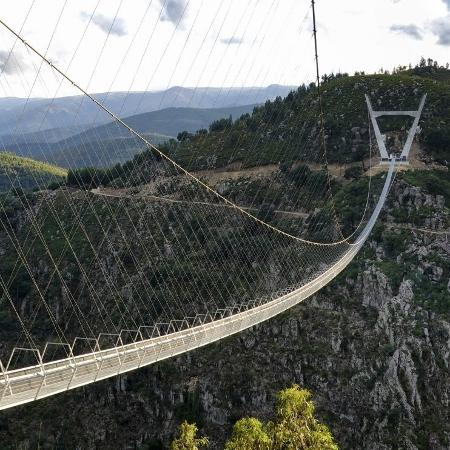 516 Arouca, maior ponte suspensa para pedestres do mundo - Divulgação/516 Arouca