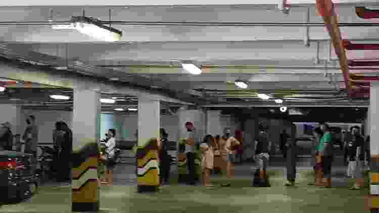 Sem energia em casa, moradores de Macapá fazem fila dentro de shopping - Arquivo pessoal/Heluana Quintas - Arquivo pessoal/Heluana Quintas