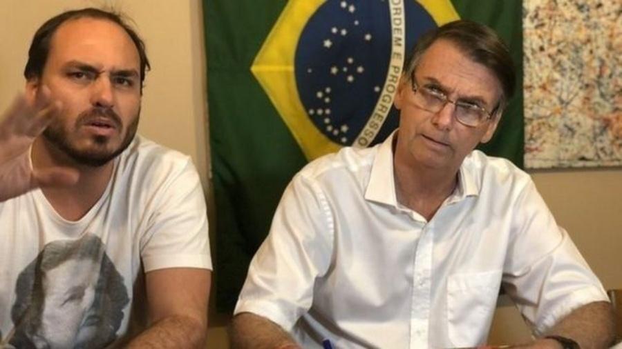 Carlos Bolsonaro foi eleito vereador com menos votos do que em 2016 - Flickr Bolsonaro