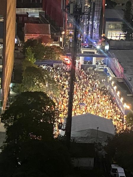 Evento Noite de Abraão, da Igreja Mundial do Poder de Deus, reuniu mais de 2 mil pessoas em Curitiba e acabou interditado - Bruna Ruediger/Divulgação