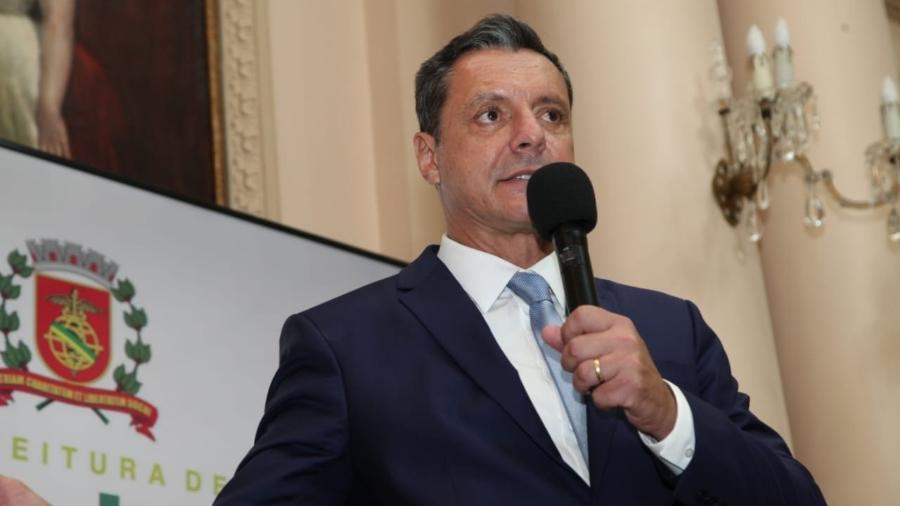 Rogério Santos, prefeito de Santos - Divulgação/Prefeitura de Santos