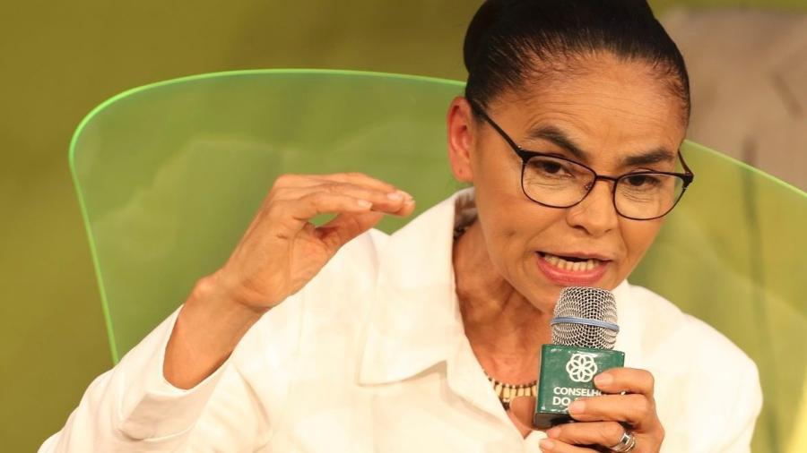 """""""A invisibilização é uma das estratégias mais utilizadas para abafar a voz da mulher na política"""", criticou Marina Silva - Valter Campanato/Agência Brasil"""