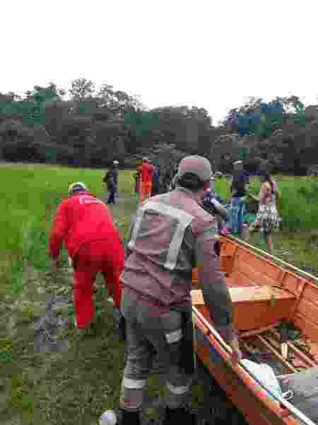 Equipes mobilizaram embarcações para encontrar adolescente no Amapá - Divulgação/Corpo de Bombeiros-AP - Divulgação/Corpo de Bombeiros-AP