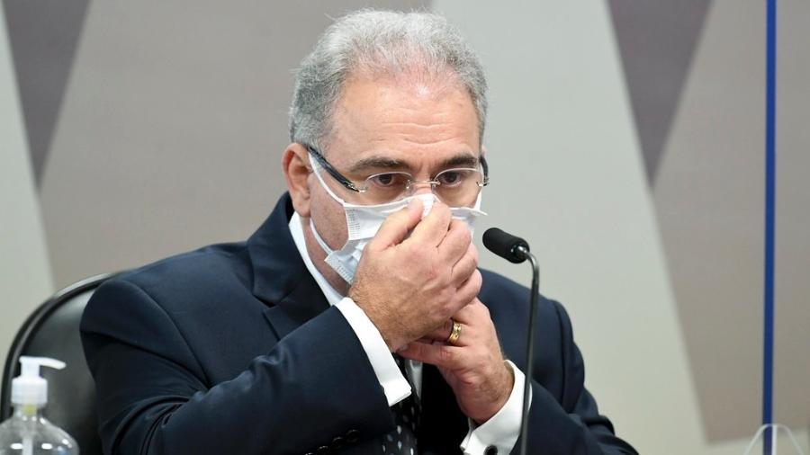 Contrato para compra de 10 milhões de doses da Sputnik V foi feito em março, quando Queiroga ainda não era ministro - Jefferson Rudy/Agência Senado