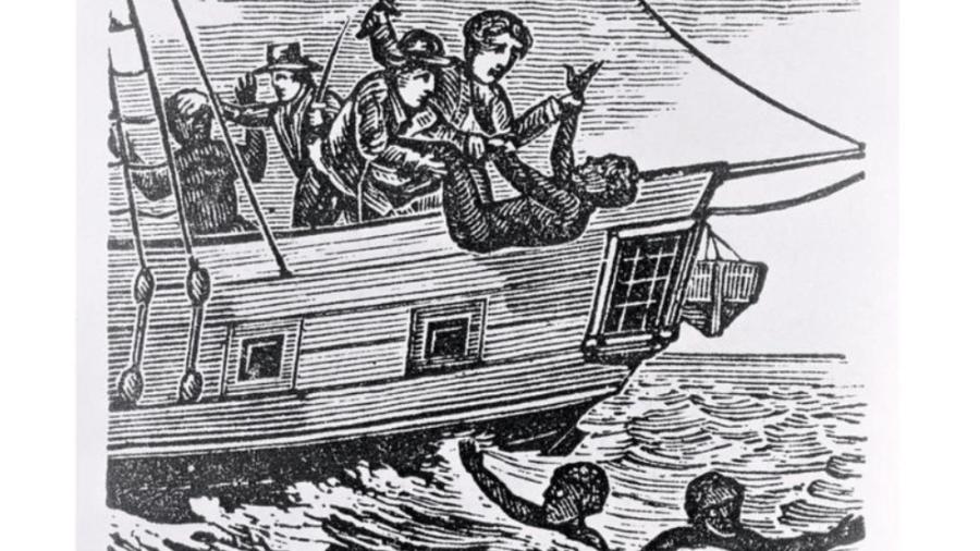 Para minimizar seu prejuízo, o capitão do Zong decidiu lançar os africanos mais debilitados ao mar e reivindicar o pagamento do seguro - ART IMAGES VIA GETTY IMAGES