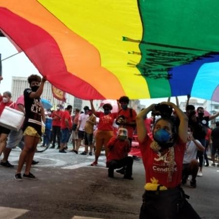 Movimento Leões do Norte no dia do Orgulho LGBTQIA + - Movimento Leões do Norte