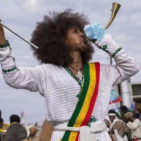 Etíopes estão comemorando o Ano Novo agora, porque seu calendário é diferente do ocidental - Getty Images