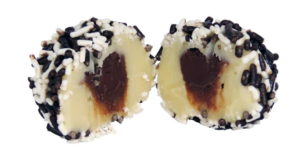 Brigadeiro de leite ninho com nutella, do Universo do Brigadeiro