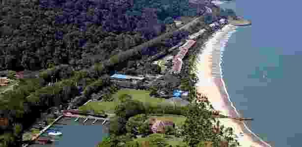 Resort do Portobello onde o ex-governador Sérgio Cabral possuía uma casa no litoral do Rio - Reprodução/Portobello