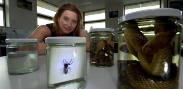 A cientista Ronelle Welton afirma que sua pesquisa põe em xeque estereótipos sobre a fauna da Austrália, considerada o 'epicentro de tudo o que é venenoso'