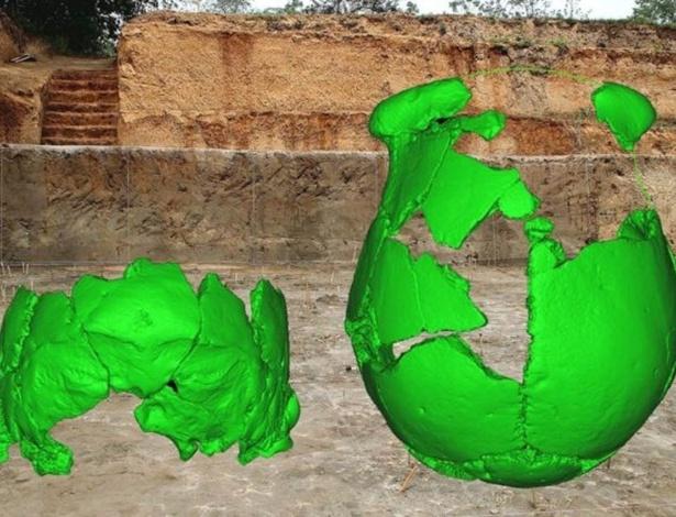 Crânios oferecem pistas sobre os antepassados dos humanos modernos