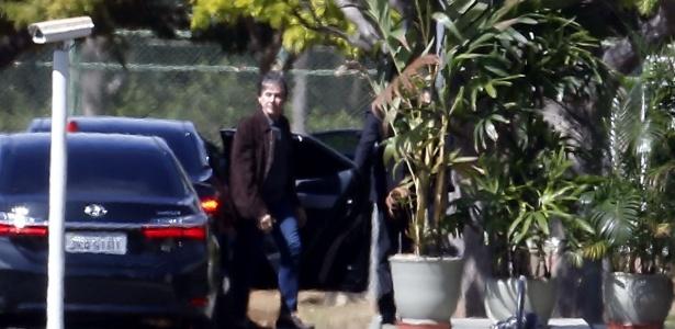 O presidente do Senado, Eunício Oliveira (PMDB-CE), chega ao Palácio do Jaburu - Dida Sampaio/Estadão Conteúdo
