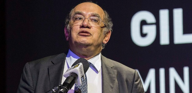 26.jun.2017 - Ministro do STF Gilmar Mendes em palestra na Fiesp