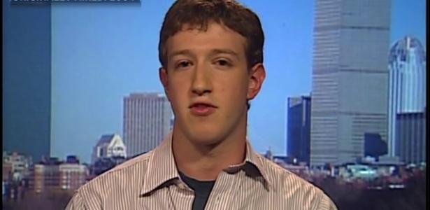 Olha só como era Mark Zuckerberg em 2004, com 20 anos e muitos bilhões a menos
