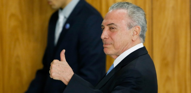 23.out.2017 - Presidente Michel Temer durante evento no Palácio do Planalto
