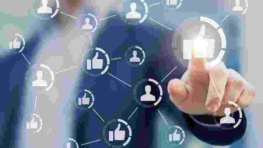 Facebook irá remover eventos de protestos contra a quarentena - iStock/Getty