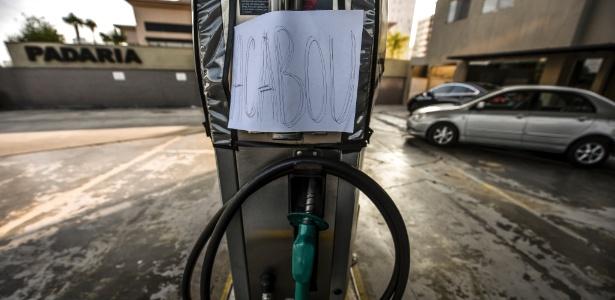 Posto de combustíveis de São José dos Campos (SP) enfrenta desabastecimento devido à greve dos caminhoneiros