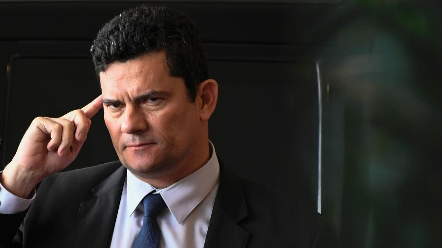 O ex-juiz federal Sergio Moro, futuro ministro da Justiça do governo de Jair Bolsonaro (PSL) - Mateus Bonomi/Agif/Estadão Conteúdo