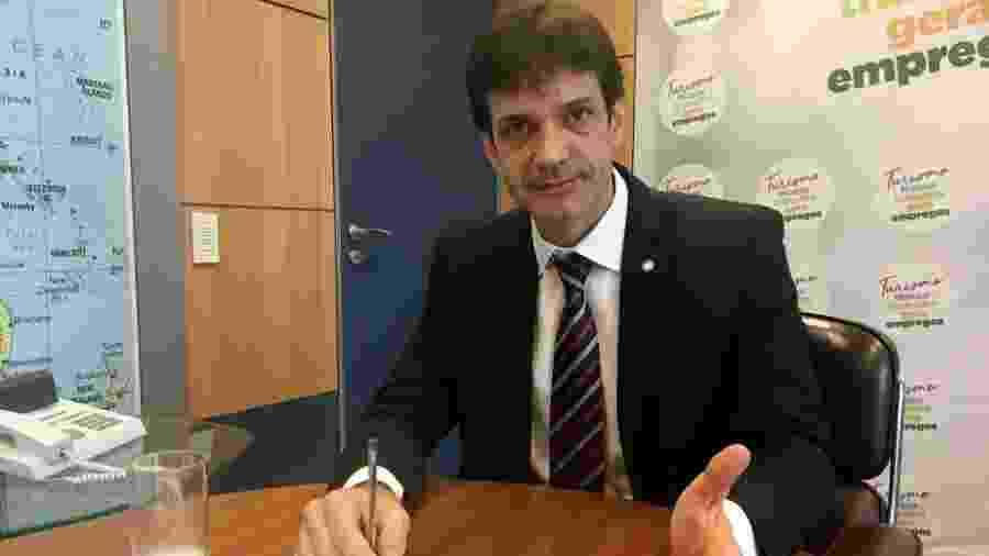 O ministro do Turismo, Marcelo Álvaro Antônio (PSL-MG) - Jake Spring - 16.jan.2019/Reuters