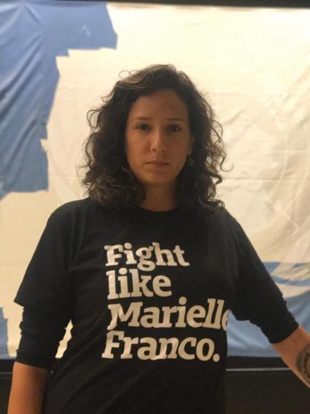 Monica Benício, viúva de Marielle Franco, elegeu-se vereadora do Rio pelo PSOL - Jamil Chade/UOL