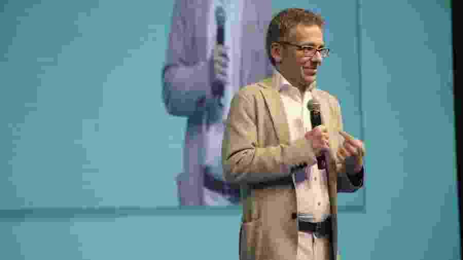 Ian Bremmer, da Eurasia, em Congresso da Anbima em São Paulo - Divulgação