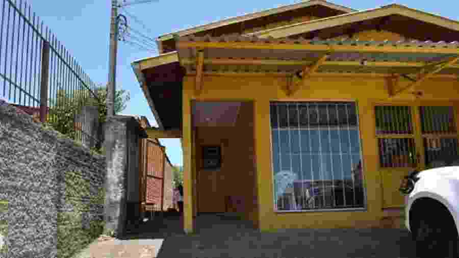 Imagem da casa onde morava a venezuelana Ariana Victoria Godoy Figuera - Divulgação/IGP