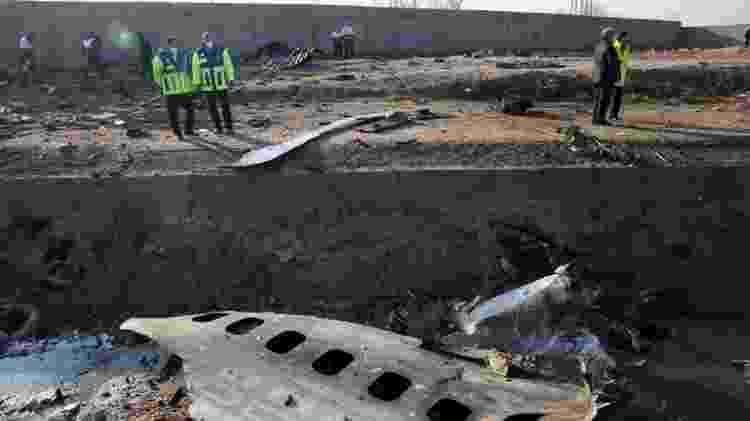 Avião ucraniano caiu logo após a decolagem - EPA