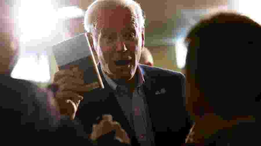 Joe Biden tem favoritismo em âmbito nacional, mas muitos dizem que sua campanha ainda não tem energia - Getty Images