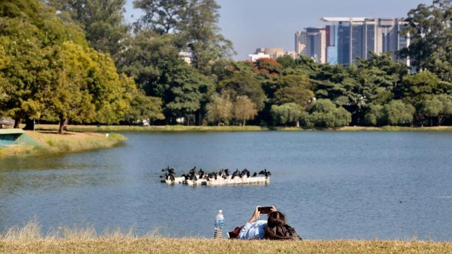 O Parque do Ibirapuera está fechado durante a pandemia - Ricardo Matsukawa/UOL