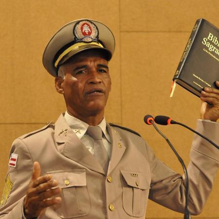 Sargento pastor Isidório, candidato a prefeito de Salvador - Divulgação Avante