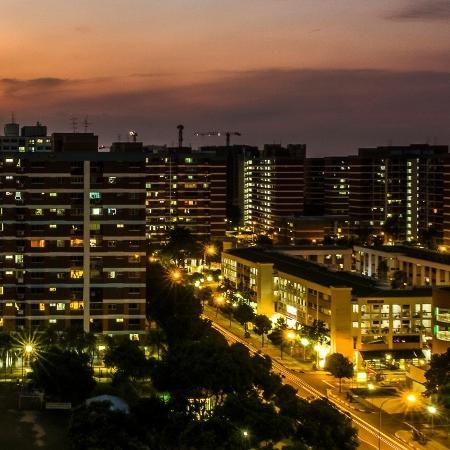 Economia de Singapura sofreu em 2020 a pior contração anual da história, afetada pela pandemia - Calvin Chan Wai Meng/Getty Images