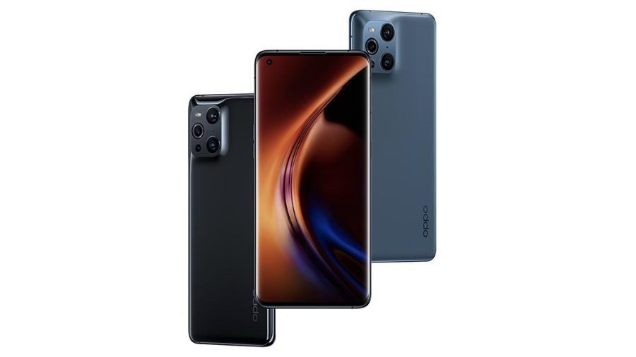 Smartphone Oppo Find X3 - Divulgação