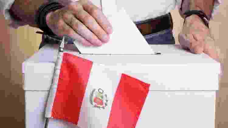 Seis dos 18 candidatos no Peru têm chances de chegar ao segundo turno da eleição mais acirrada dos últimos anos - Getty Images - Getty Images