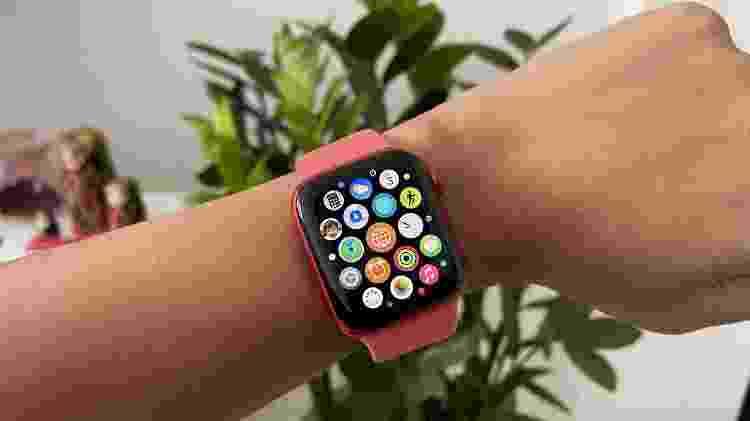Apple Watch Series 6: aplicativos - Bruna Souza Cruz/Tilt - Bruna Souza Cruz/Tilt