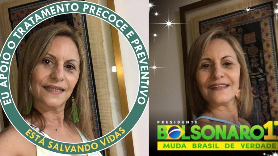A médicabolsonarista Mara Regina Cordeiro Pezzino teve a indicação revogada pelo Ministério da Saúde - Reprodução/Facebook
