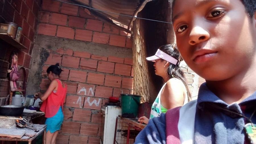 Juan David se mudou da Venezuela para a Colômbia - Juan David/World Vision