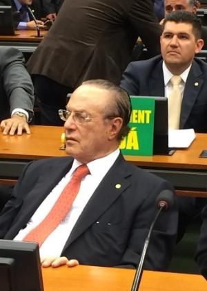 O deputado federal Paulo Maluf