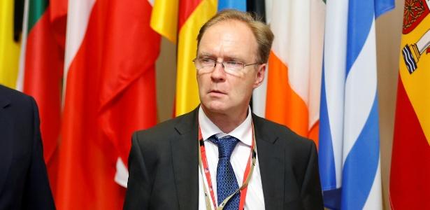 O embaixador britânico para a UE Ivan Rogers não explicou as razões para deixar o cargo